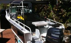 5.5m Belvadere boat - built in 2007, 150 hours on the