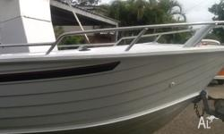 5.8 quintrex reef raider 2008 model tralier first part