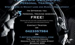 I'm a personal trainer based at The Training Ground PT