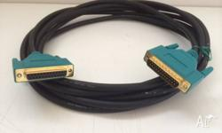 5 Metre Extension cable for parallel printers or other