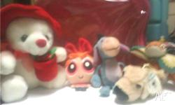 Hey there, I have for sale5 small plush toys plus a