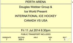 For sale are 5 tickets seated together to the USA Vs