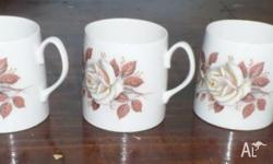 Queen Anne Cups. They are between a tea cup and a mug