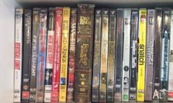 60+ Movie, TV Series and Music DVD's, refer to photos