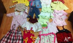 Mixed brands of Girl clothing 60 pc + girl clothing.