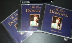 60's 'DONAVON' Vol's 1. 2. and 3. (3) Disc (3) Volumes