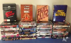 For sale 62 films all different titles. Including Fight