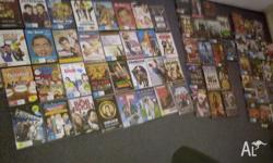 Huge lot of DVD's - all working - works out to be less