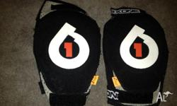 Soft knee and elbow pads / guards for mountain biking