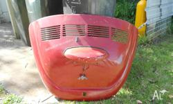 69 VW Beetle boot with vents. Very good condition, no