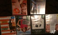 Six awesome DVDs for sale! - Juno - cadet Kelly -