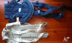 baby carrier ,good condition $6ea . 2 for $10 suits