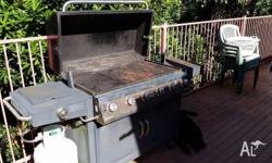 6 burner hooded BBQ. Originally purchased from Kmart,