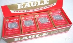 By EAGLE. BRIDGE SIZE. SEALED IN ORIGINAL PACKING. FULL