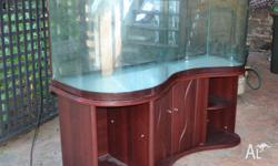Awesome used one of a kind 6 foot Fish tank. It is in