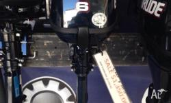 New 6 hp evinrude 4 stroke short shaft Great price