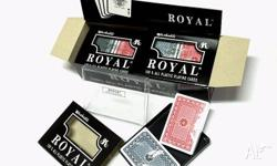 6 P�K (DOUBLE Deck )of ROYAL Poker Playing Cards 100%