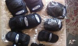 6 Piece Medium size Protective Gear Elbow, Knee Pads &