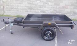 6X4MEDIUM DUTYTRAILER WITH9 INCH SIDES- BRAND NEW WITH