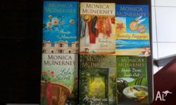 6 x Monica McInerney Books. All in great/excellent