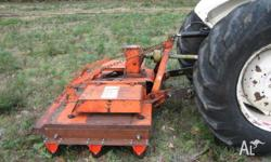 slasher /mower howard 6ft new blades new centre