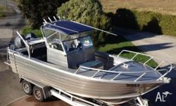 6m Tristar Marine Centre Cab Boat. This boat has been