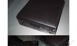 6x High quality 240 DISC DVD CD BlACK Leather Wallet
