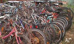 Hi Bike Lovers, i have around 70 + bicycles and also a