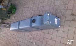 70 litre RV long upright water tank. Manufactured by