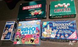 Collectible 1970s vintage board games INCLUDES Boggle,
