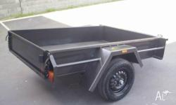 7X4MEDIUM DUTYTRAILER WITH12 INCH SIDES- BRAND NEW WITH