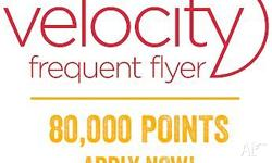 Message me! Get 80,000 Velocity flyer points + one FREE
