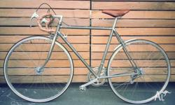 This is a revived old 1980 Apollo 12 speed race bike