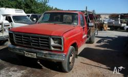 Selling 82' Ford F350 dual wheel tray top 351 motor C6