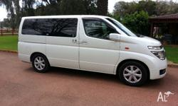 Very clean and reliable low kms 4x4 Elgrand with many