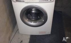 Up got sale is this near new washing machine was used