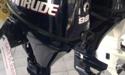 New 9.8 hp evinrude 4 stroke outboard EOFY sale great