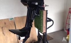 2006 model Tohatsu outboard motor in VGC used once