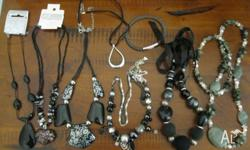 9 pces bulk womens jewellery lot incl brand new vintage
