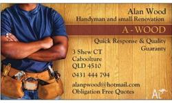 - Renovations and Home Maintenance & Repairs Hours of