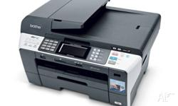 A3 & A4 Colour Printer Scanner Fax machine by Brother