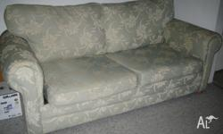 A double seater sofa bed in great condition for sale