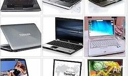 a few laptops for sale from $150 to $350 from centrino