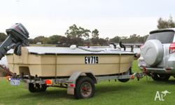 A great little fishing boat with heaps of features