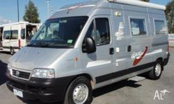 A'VAN CAMPERS Applause, 2005, Silver, Campervan, Avan