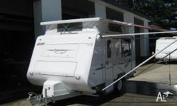 A'VAN CAMPERS GABRIELLE 11ft 6 x 6ft 2, 2010, white,