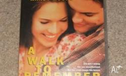For Sale - A Walk To Remember DVD, this movie has only
