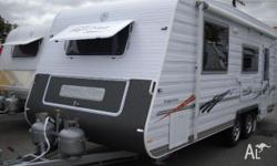 AA Caravan Royal Flair New Designer Series DS34 21x7'9,