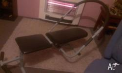 Ab Bench in excellant condition Ring or text as i dont