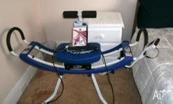 Ab Wave machine. Hardly used. Includes all DVD's and